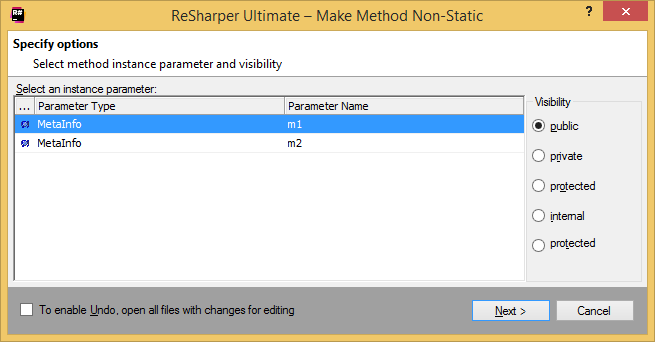 Refactorings__Make_Method_Non-Static__dialog_box