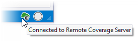 Remote coverage server icon