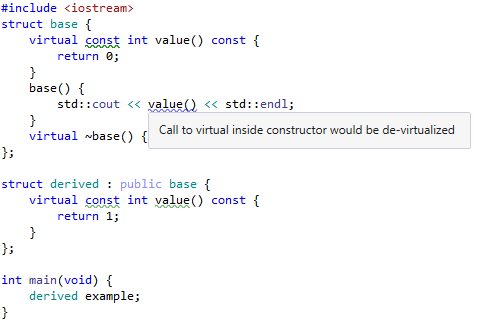 ReSharper warning. virtual method in constructor