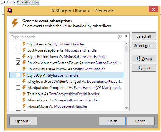Generating event subscriptions in VB.NET