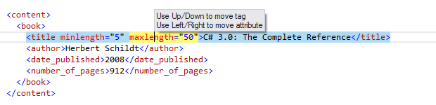 Coding Assistance Moving Code Elements move xml tags 03