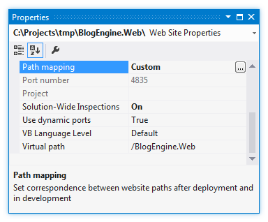 ReSharper by Language HTML Path Mapping 03
