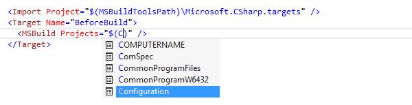 Coding Assistance Code Completion Symbol build scripts 02