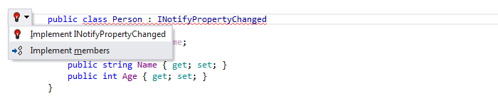 Coding Assistance INotifyPropertyChanged Support 01