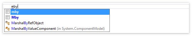 Managing Extensions Mnemonics