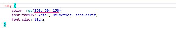 ReSharper by Language CSS Highlighting