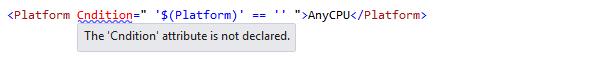 ReSharper by Language MSBuild Code Highlighting 02