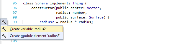 ReSharper by Language TypeScript Context Actions create local variable 01