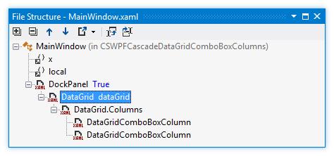 ReSharper by Language XAML File Structure