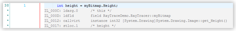 Reference Snapshot Views File Preview IL Code