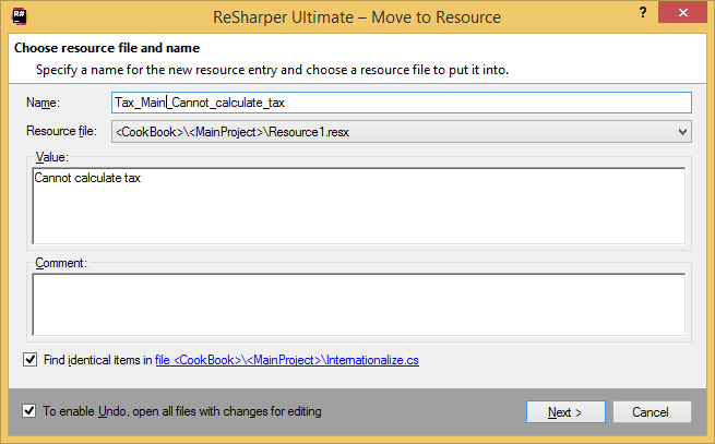 Resources Refactorings Move to Resource 02