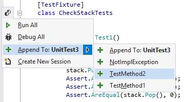 Unit Testing Recognizing Unit Tests append 01