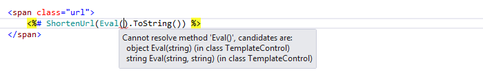 Web Development Code Highlighting