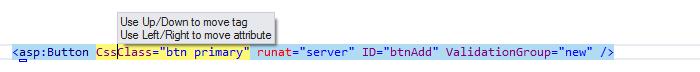 Web Development Move tags around