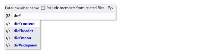 Web Development Navigation Go to File Member