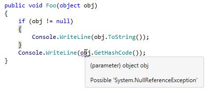 Code Analysis Value Analysis 1
