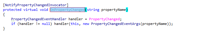 Coding Assistance INotifyPropertyChanged Support 02