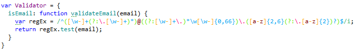 Highlighting of regular expressions
