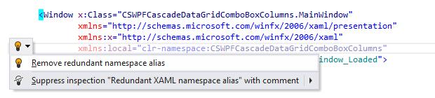 ReSharper by Language XAML Quick Fixes remove redundant 01