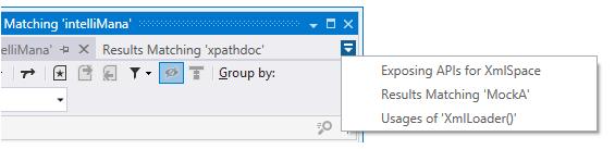 Tool window tabs