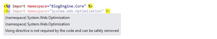 Web Development Quick Fixes remove unused directives 01