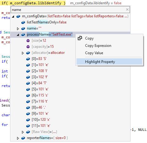 ReSharper DataTips: Revealing values for debugged objects