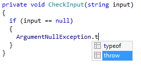 Applying postfix template for null-check