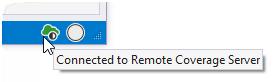 Remote coverage server icon