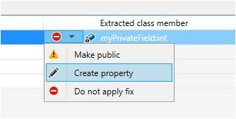 Extract Class non public