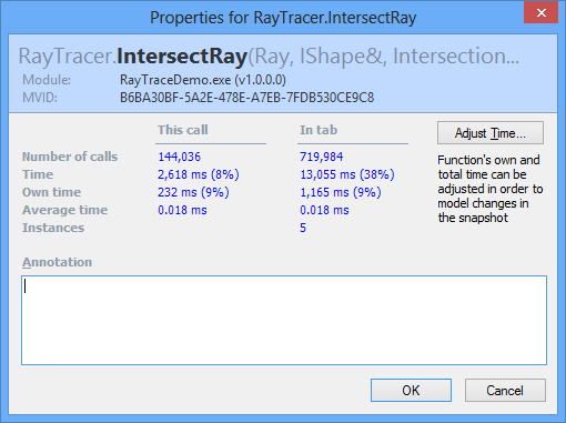 Function Timings 1