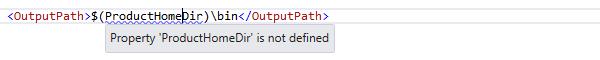 ReSharper by Language MSBuild Code Highlighting 01