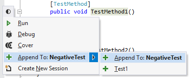 dotCover Unit Testing Recognizing Unit Tests append 01