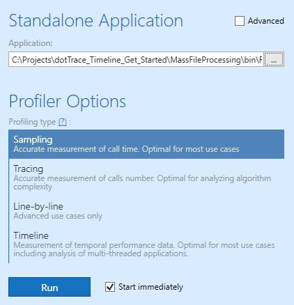 t3 profiler options