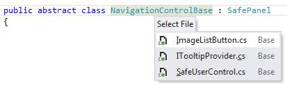 dotPeek: navigating related files