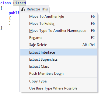 Creating a decorator with ReSharper