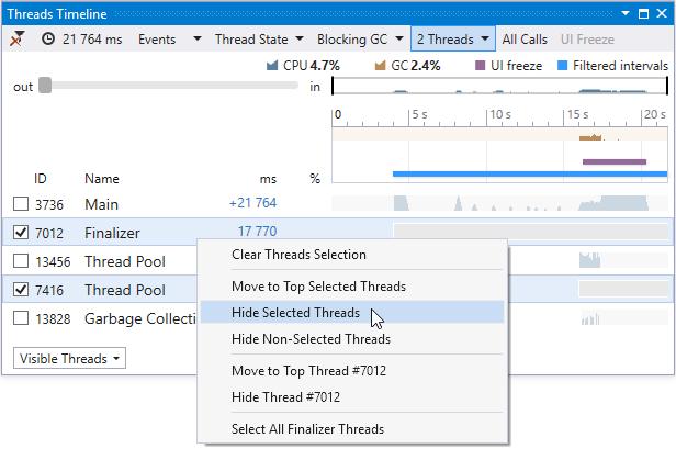 t1 hide threads