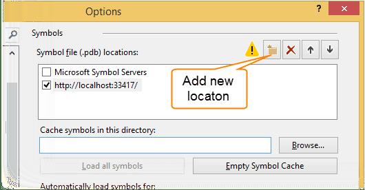 Using dotPeek as a Symbol Server - Help | dotPeek