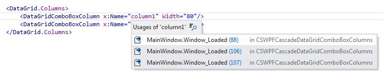 JetBrains Rider: Navigation features in XAML files