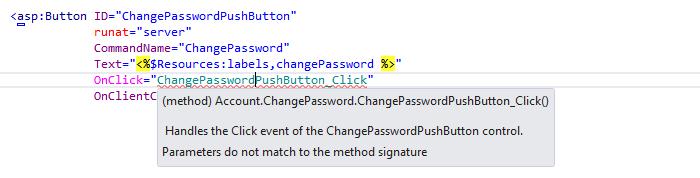 ReSharper: 'Change signature' quick-fix in ASP.NET