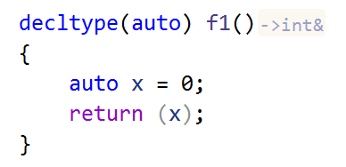 JetBrains Rider C++: type name hints for function return types