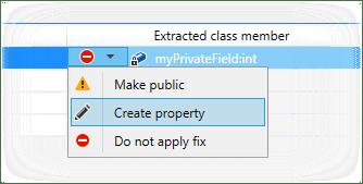 ReSharper: Extract Class refactoring