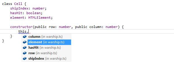 ReSharper: TypeScript code completion