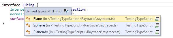 ReSharper: 'Go to Derived Symbols' in TypeScript