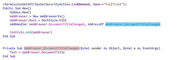 ReSharper: Highlight Usages in VB.NET