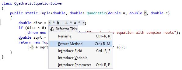 Modularity with ReSharper