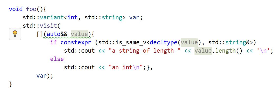 Use explicit template parameters in lambda