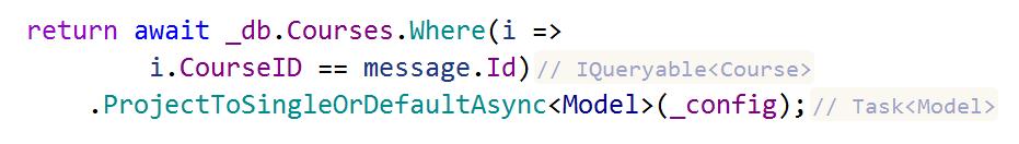 ReSharper: Inlay hints return type in call chain