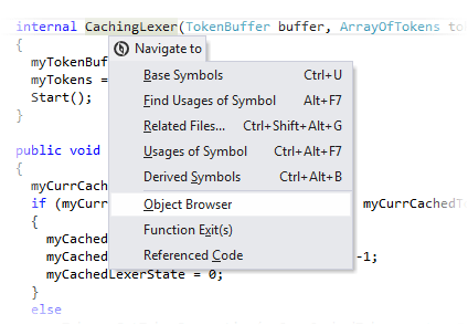 Locating a library symbol in Object Browser