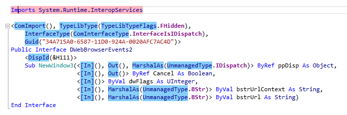 ReSharper: Highlighting namespace usages in VB.NET