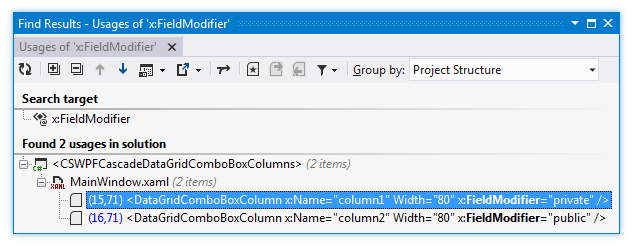 ReSharper: Search in XAML files